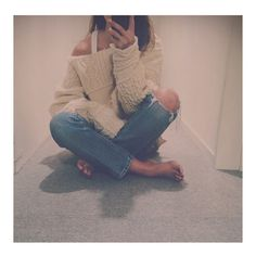 FEED | Websta Fashion Images, Mood Boards, Street Style, Denim, Knitting, Fasion, Ripped Jeans, Pants, How To Wear