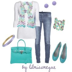 """""""Pretty in Pastels"""" by lilmissmegan on Polyvore"""