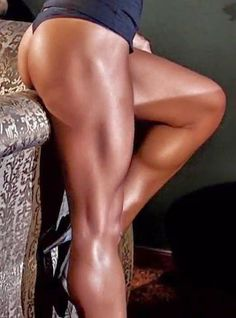- WOMEN's muscular ATHLETIC LEGS especially CALVES - daily update!