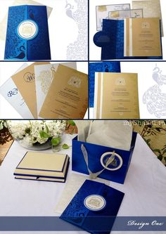 Indian Wedding Invitation Cards: Trendy Design Ideas | Myshaadi.in#India#Wedding Cards#Marriage Invitations#Indian Weddings