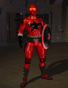 Red Guardian by Halfbakedone.deviantart.com on @deviantART