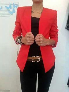 Blazer rojo