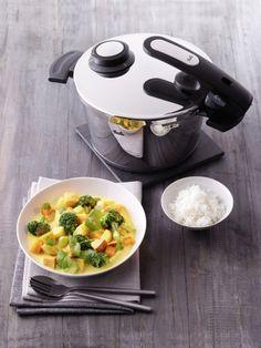 Kuerbis-Curry aus dem Schnellkochtopf #Halloween