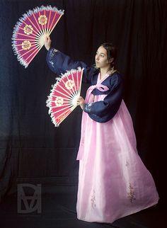 Crystal Hanbok Korean Outfit