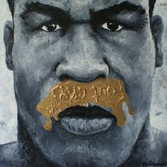 #PlatinumBlood   oil on canvas 90x90 cm 2010.     #DmitryBuldakov #ContemporaryArt #MikeTyson #OilOnCanvas #OutCry #PopArt #Boxing #NewArt #FashionArt