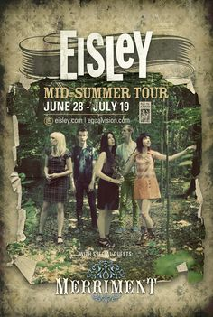 Eisley midsummer tour: Such a great show with my <3