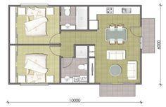 2 Bedroom Granny Flat Designs | Master Granny Flats