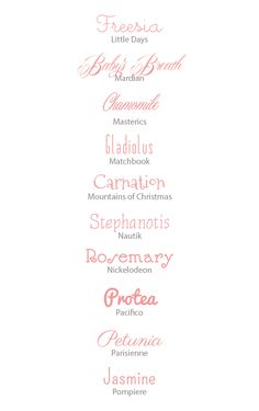 50 Free Fonts for Perfect Wedding Invites | http://www.snippetandink.com #fonts #design #downloads