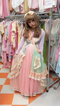 Cult party fairy kei is a fascinating mix and I always love it more than I think I will~  .//w//.