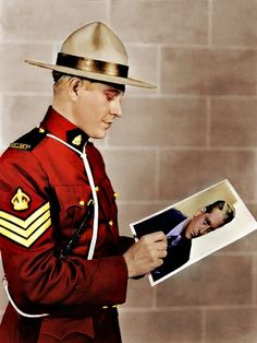 The Mountie's Day Off.