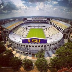 LSU Tiger Stadium Death Valley