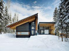 Arquitectos: Bohlin Cywinski Jackson  Proyecto: Kicking Horse House  Ubicación: Golden, BC, Canadá