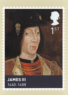 Released of March James lll Royal Mail Special Stamps The House of Stewart. The Scottish Monarchs. Kings and Queens Royal Mail Stamps, Uk Stamps, Rare Stamps, English Monarchs, Postage Stamp Art, Picture Postcards, Penny Black, Stamp Collecting, British Royals