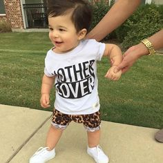 Now this is what we call some serious baby swag. @jessicauribio nailed it! Grab this shirt for $16...few sizes left in our bake sale. #perfectlybaked #bakesale #sale #laborday #freeshipping #motherlover