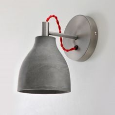 eine betonlampe für die wand - die heavy wall light. alle 4 farben sehen sie hier: http://betoniu.com/shop/betonlampe-betonleuchte/heavy-wall-light-wandleuchten-aus-beton/