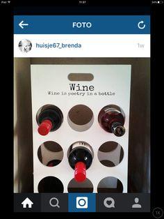 Wijnkast meken Wine Presents, Ipad, Bottle, Flask, Jars