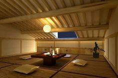 Japanese style attic