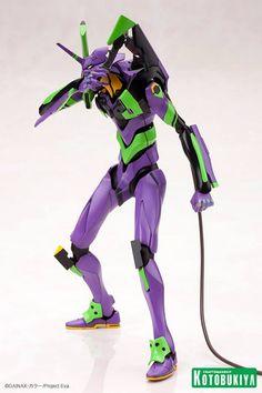 Evangelion Eva Unit 1 Plastic Model Kit - Miscellaneous - Action Figures Toys News ToyNewsI.com