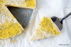 Het werd cheesecake met mango en passievrucht, en geloof me, dit wil jij ook maken!