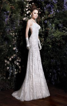 The Lourdes Collection; the Madonna by Galia Lahav. I never pin wedding stuff, but this is the most beautiful dress I've ever seen