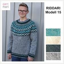 "Résultat de recherche d'images pour ""riddari"" Knitwear, Knitting Patterns, Knit Crochet, Men Sweater, Graphic Sweatshirt, Pullover, Sweatshirts, Sweaters, Knits"