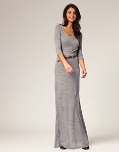 Love this maxi for winter