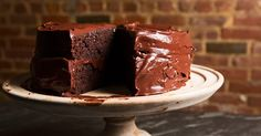 Watch and learn how to make Emily Luchetti's classic chocolate layer cake.