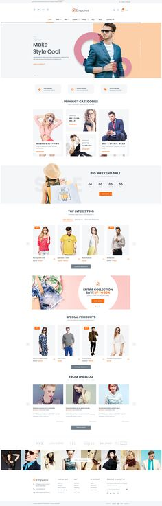 Fashion Ecommerce Wordpress Themes. Best E-Commerce Website Themes 2018