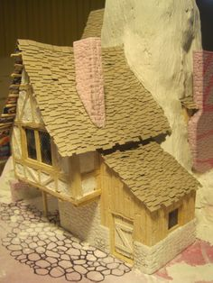 Making Slate Roofs   Zaboobadidoo