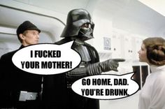Parents are embarrassing, even in a galaxy far, far away.