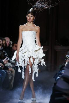Frank Sorbier Spring 2015 Couture