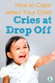 Do you feel terrible when your child cries at drop off? Whether at day care, preschool or even with a nanny, saying goodbye to your child in the mornings can be stressful for both parent and child. Learn how to cope with your child's separation anxiety and make drop offs smoother.
