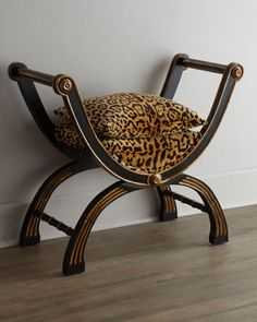 Shop Macayla Bench from John-Richard Collection at Horchow, where you'll find new lower shipping on hundreds of home furnishings and gifts. Animal Print Furniture, Animal Print Decor, Animal Prints, Chair Bench, Chair And Ottoman, Style Africain, Furniture Logo, Office Furniture, Living Room Chairs