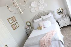 Tween Girl Bedroom Makeover