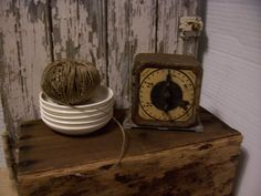 Primitive Rusty Kitchen Timer by trufflepigtreasures on Etsy, $22.00