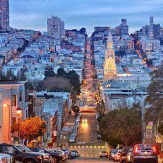 San Francisco California by san_francisco_live by photoblog.sanfranciscofeelings.com sanfrancisco sf bayarea alwayssf goldengatebridge goldengate alcatraz california