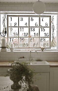 Window advent-love!!!!