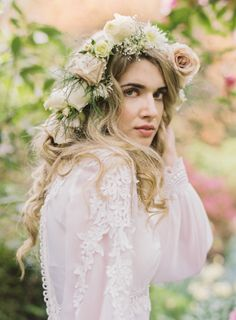 Natural beauty styled shoot ~ Blush Wedding Photography