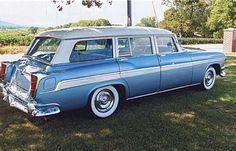 1955 Chrysler New Yorker Town & Country Wagon