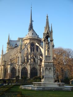 Notre Dame Cathedral - absolutely breathtaking inside and out. cant wait to visit again