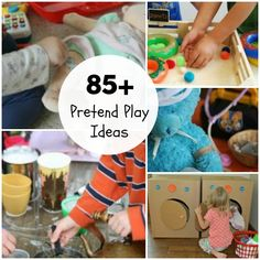 The Ultimate Guide to Imaginative Play Ideas for Kids: 100 Ideas to try. Imaginative Play is an essential requirement in childhood. Get started today.
