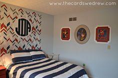 Toddler Room Makeover....Framed Super Hero Prints + Cut It Out Frames Giveaway! - The Cards We Drew