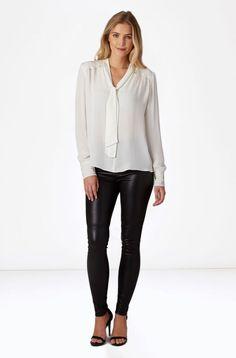 PARKER- Joy Blouse Easy Day, Silk Top, Joy, Blouse, Model, Fashion, Moda, La Mode
