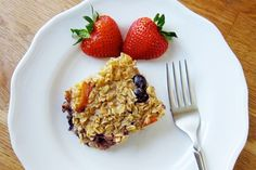 Baked Oatmeal Less Sugar