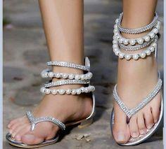 Cute destination wedding sandals