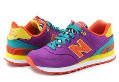 New Balance Topánky - Wl574 - WL574PY - Tenisky, Topánky, Čižmy, Mokasíny, Sandále