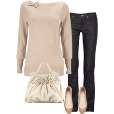 Casual cute winter outfit