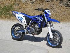 My personal wr450 supermoto