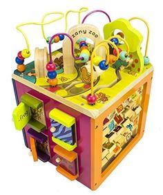 B. Zany Zoo Wooden Activity Cube for Children Ages 1 to 3 B. Toys http://www.amazon.com/dp/B002YIX0XA/ref=cm_sw_r_pi_dp_0cTnwb1QHSPBH