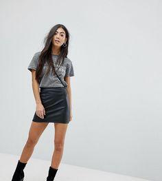 da1c66d41d ASOS PETITE Sculpt Me Mini Skirt - Black Asos Skirts, Short Girl Problems,  Petite